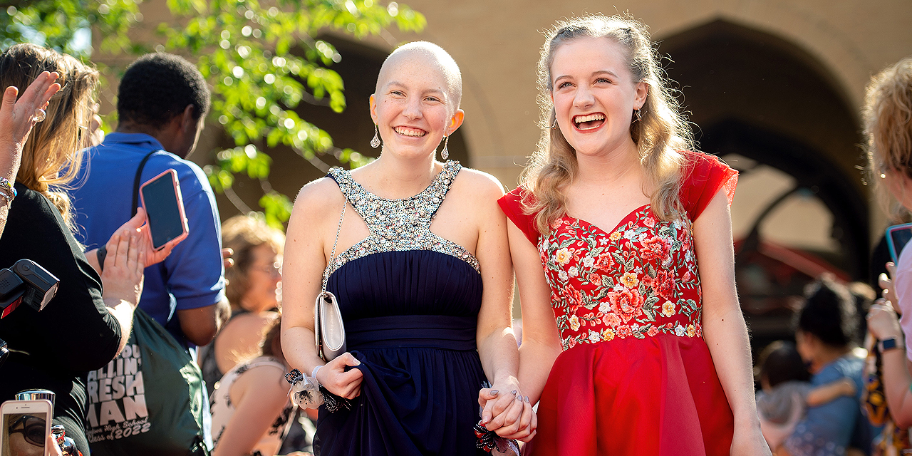 Child Life staff create unforgettable night for teen patients