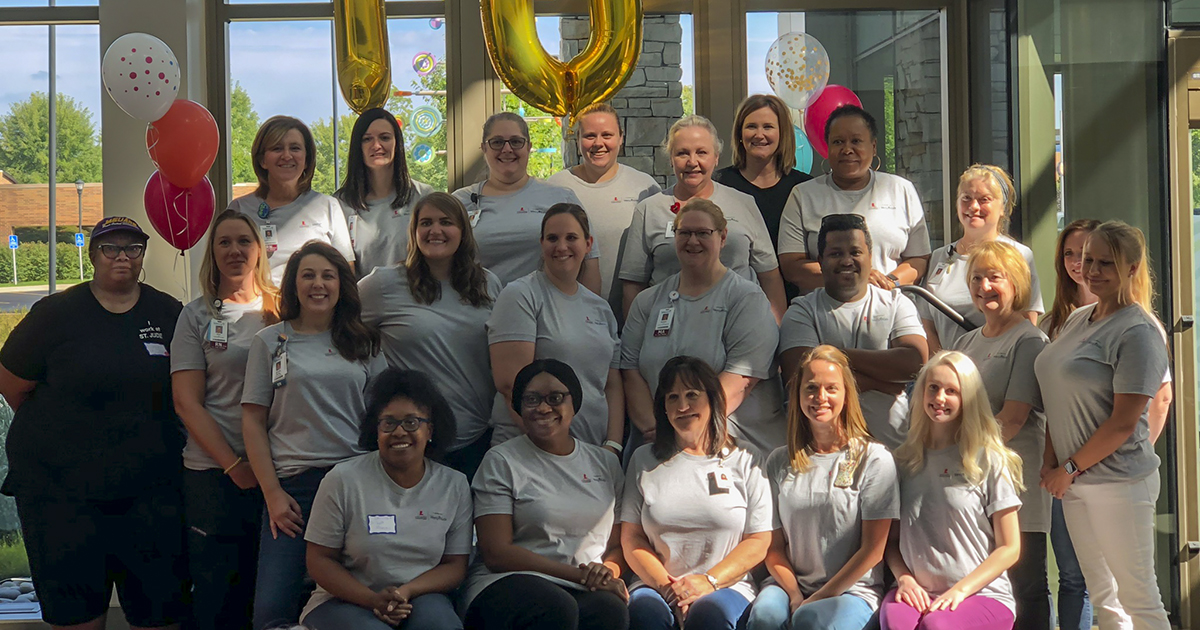 The St. Jude Affiliate Clinic at Mercy Children's Hospital celebrates a decade of life-saving care