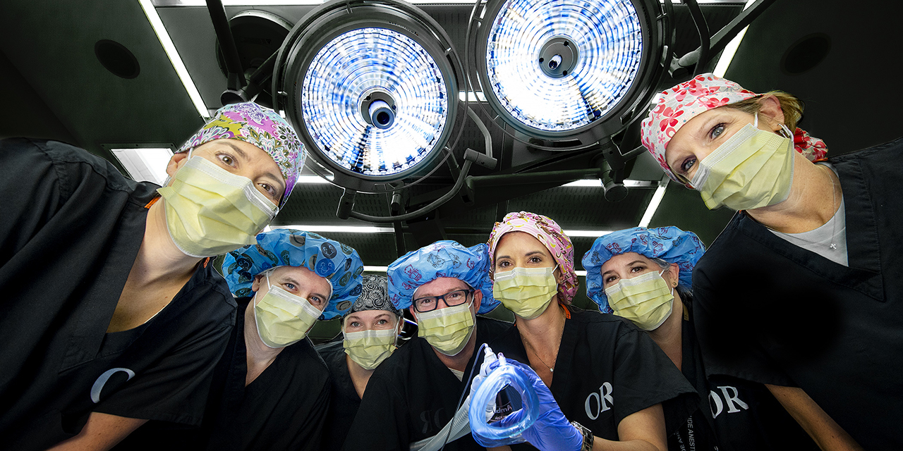 CRNA Week celebrates the nurse anesthetists who are always there, for every heartbeat
